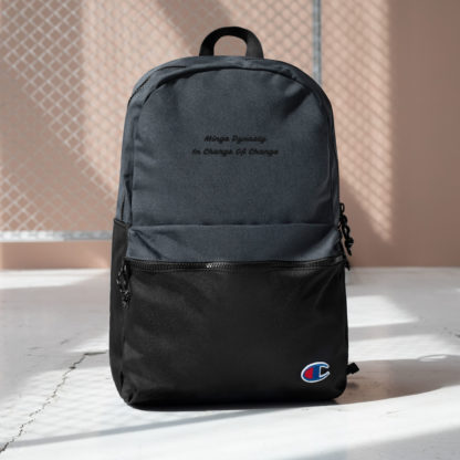 Minge Dynasty Embroidered Champion Backpack