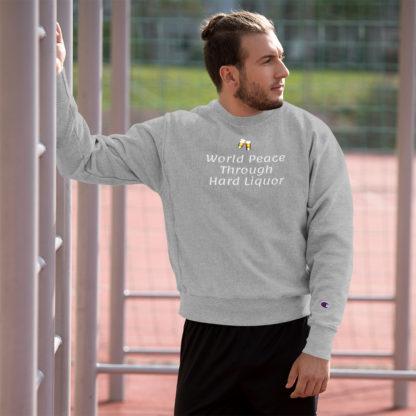 Champion Sweatshirt World Peace