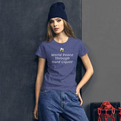 short sleeve T shirt World Peace