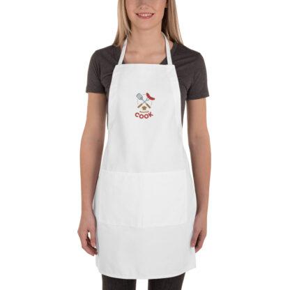 embroidered apron white 6003653105e1e