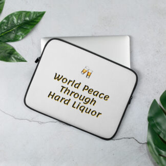 Laptop Sleeve World Peace