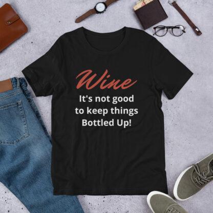 unisex premium t shirt black front 60a864818267e