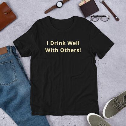 unisex premium t shirt black front 60aaf06a1dad6