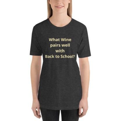 unisex premium t shirt dark grey heather front 60a83df5671a2