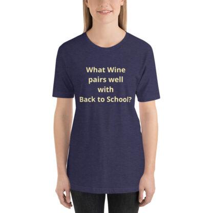 unisex premium t shirt heather midnight navy front 60a83df565aab