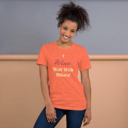 unisex premium t shirt heather orange front 60aaf16812996