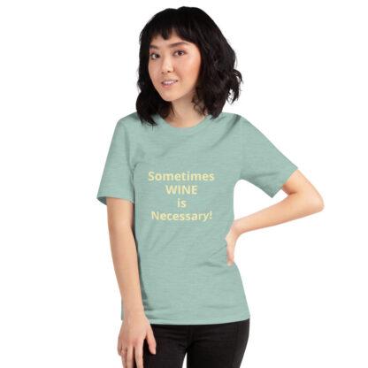 unisex premium t shirt heather prism dusty blue front 60a8399838155