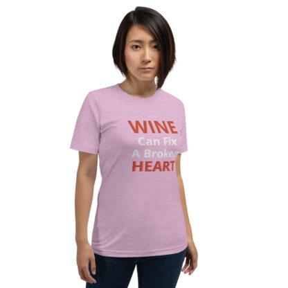 unisex premium t shirt heather prism lilac front 60a83b11381fc