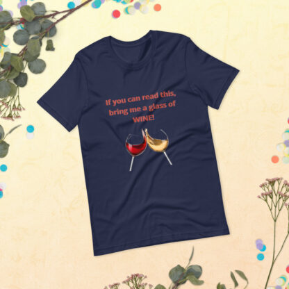 unisex premium t shirt navy front 60a83be4ee000