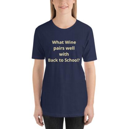 unisex premium t shirt navy front 60a83df5669ba