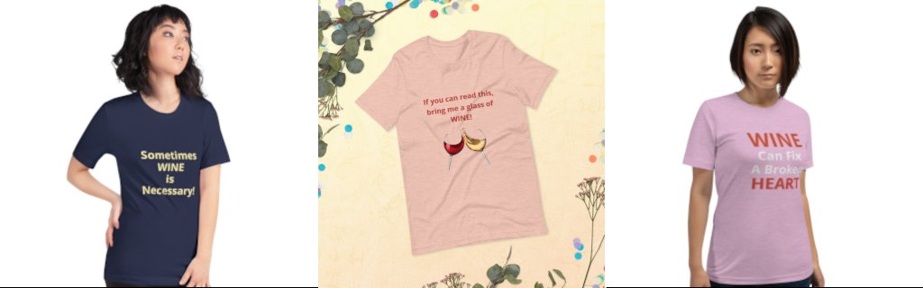 Wine Collection Clothing and Items