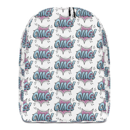 all over print minimalist backpack white front 60edfbe48ce5d