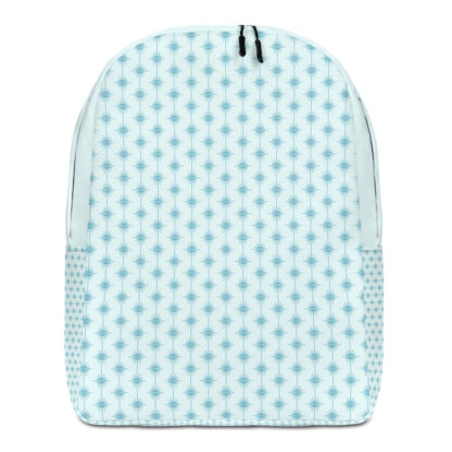 all over print minimalist backpack white front 60edfd892dc39