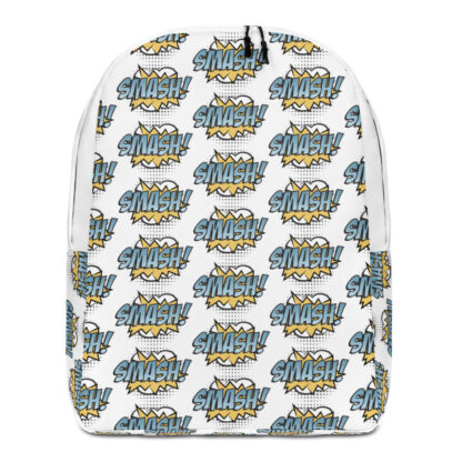 all over print minimalist backpack white front 60fa3cea6116d