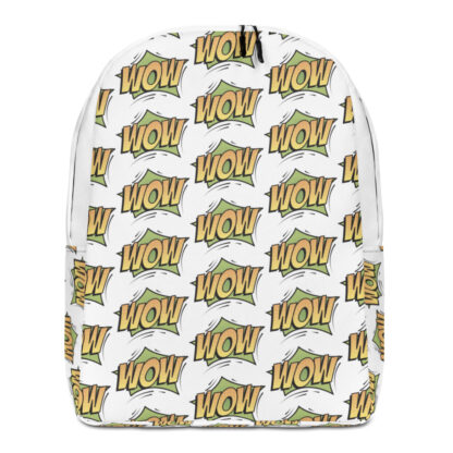 all over print minimalist backpack white front 60fa400a7038c