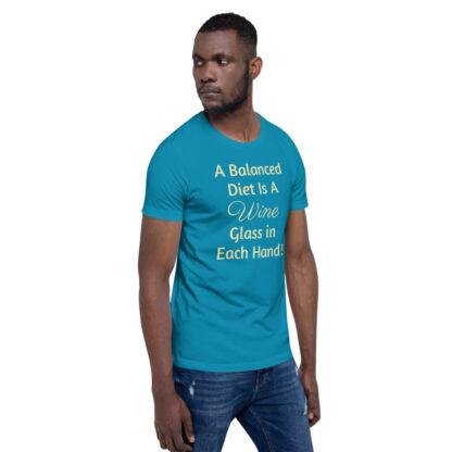 unisex premium t shirt aqua right front 60ea4ded83856