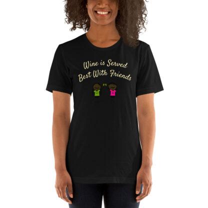 unisex premium t shirt black front 60ea508e13c43