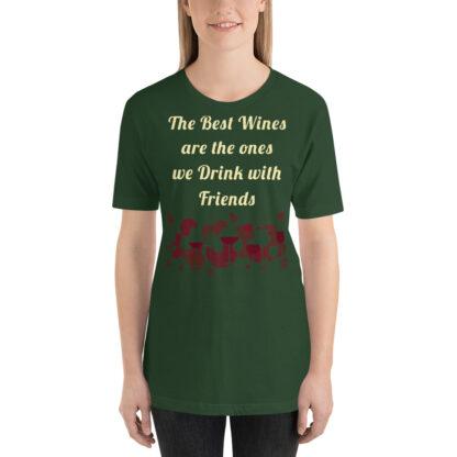unisex premium t shirt forest front 60e266e919fbb