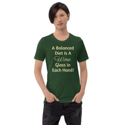 unisex premium t shirt forest front 60ea4ded8143d