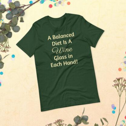 unisex premium t shirt forest front 60ea4ded815c0