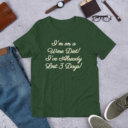 unisex premium t shirt forest front 60ea4e894ee1d