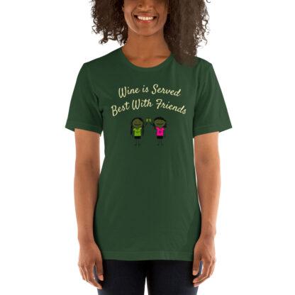 unisex premium t shirt forest front 60ea508e13e15