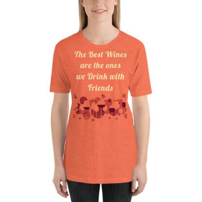 unisex premium t shirt heather orange front 60e266e91b138