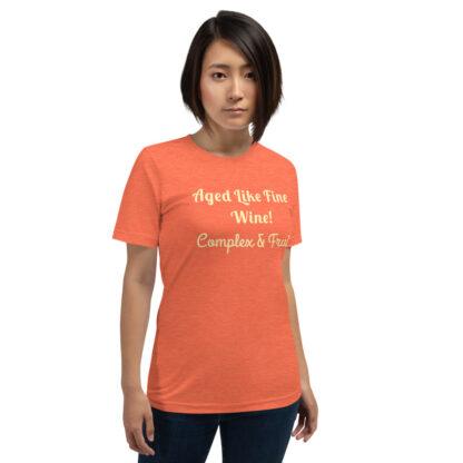 unisex premium t shirt heather orange front 60e26753e93e7