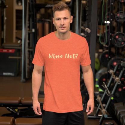 unisex premium t shirt heather orange front 60e277ce9bdce