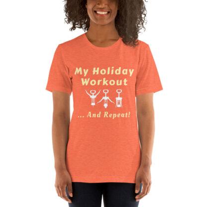 unisex premium t shirt heather orange front 60e2785a26952