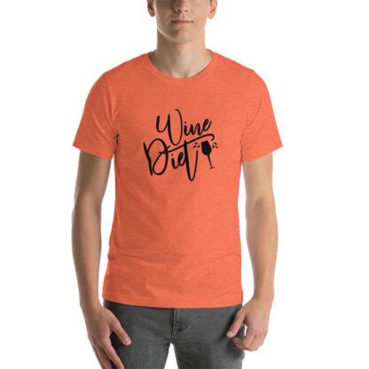 unisex premium t shirt heather orange front 60ea4ce1bf085