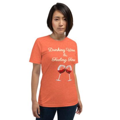 unisex premium t shirt heather orange front 60eaf9c1a37a1