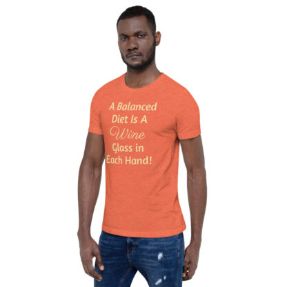 unisex premium t shirt heather orange left front 60ea4ded848f8