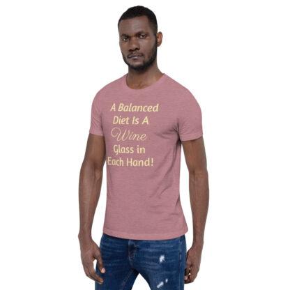 unisex premium t shirt heather orchid left front 60ea4ded86609
