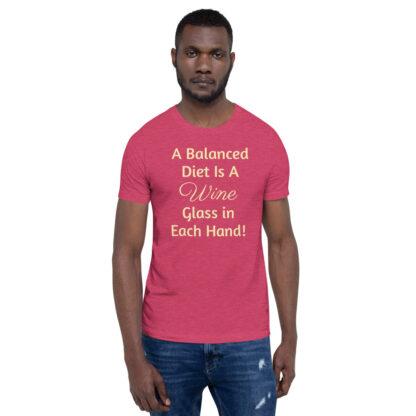 unisex premium t shirt heather raspberry front 60ea4ded80ed7