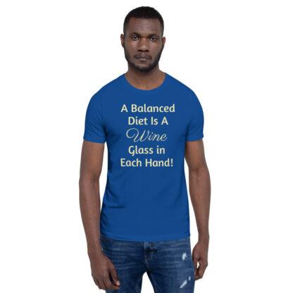 unisex premium t shirt true royal front 60ea4ded81acf