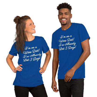 unisex premium t shirt true royal front 60ea4e894f371