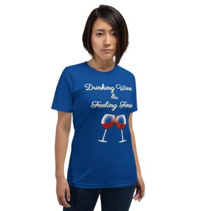 unisex premium t shirt true royal front 60eaf9c1a21c4
