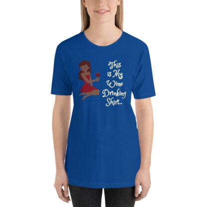 unisex premium t shirt true royal front 60eb22a06a7d0