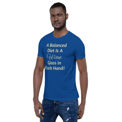 unisex premium t shirt true royal left front 60ea4ded81db1