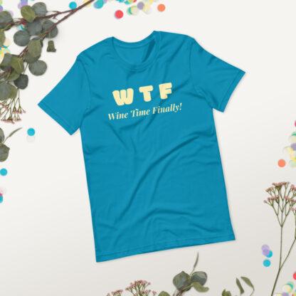 unisex staple t shirt aqua front 2 60f21c4428c6c