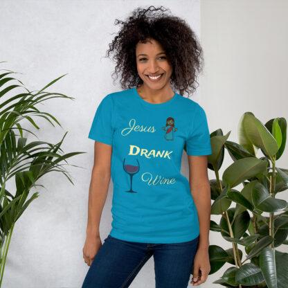 unisex staple t shirt aqua front 60ec8fd46dde1