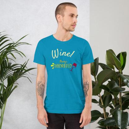 unisex staple t shirt aqua front 60ecb2b316f47