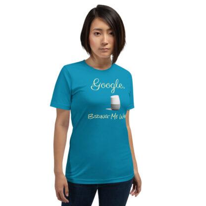 unisex staple t shirt aqua front 60ecf9406a5a0