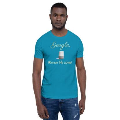 unisex staple t shirt aqua front 60ecf9406ceca