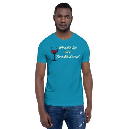 unisex staple t shirt aqua front 60ef34efe7bb1