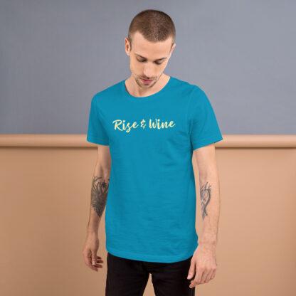 unisex staple t shirt aqua front 60ef773b62e89