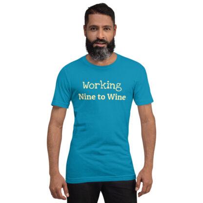 unisex staple t shirt aqua front 60f21ae51dfb0