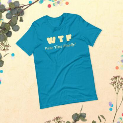 unisex staple t shirt aqua front 60f21c4428764