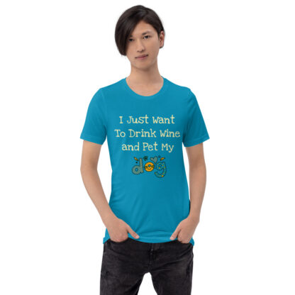 unisex staple t shirt aqua front 60f4c49fd797e